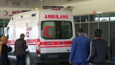 jandarma -  Bingöl'de otomobil takla attı, 1 kişi öldü, 5 kişi yaralandı