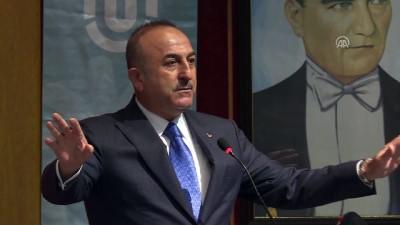 Çavuşoğlu: 'Sadece terörle değil, terörizmin ideolojisiyle de mücadele ediyoruz' - TUNCELİ