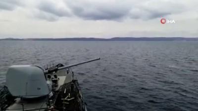 - Deniz Kuvvetlerinden dikkat çeken eğitim