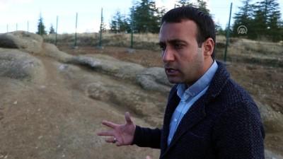 Efsanevi 'Ejderha Taşı' gün yüzüne çıkarıldı - ELAZIĞ