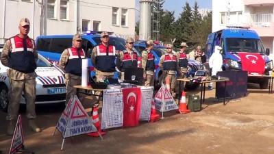 Engelli öğrenciler jandarma komutanlığını ziyaret etti - GAZİANTEP