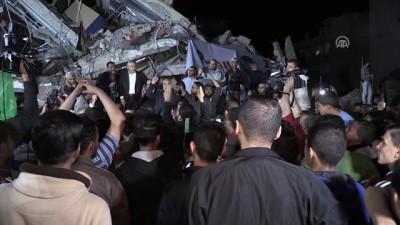 Gazze'de Filistin direnişine destek gösterisi