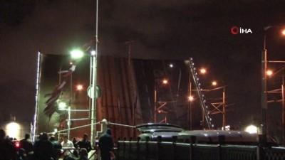 Haliç'teki 3 köprü trafiğe kapatıldı