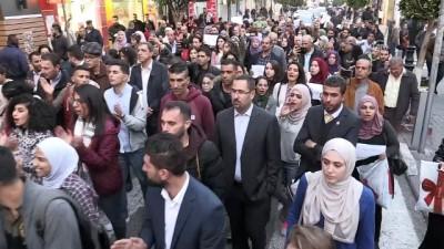 İsrail'in Gazze'ye yönelik saldırılarına tepkiler - RAMALLAH