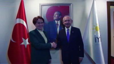 Kılıçdaroğlu-Akşener görüşmesi (2) - ANKARA