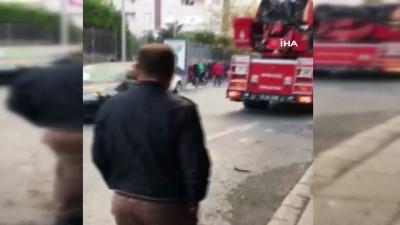 trol -  Küçükçekmece'de eski bir tül fabrikasında yangın çıktı