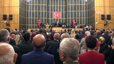 """MHP Lideri Bahçeli: """"Ederi 12 milyon dolar olduğu ilan edilen canilerin bizim nezdimizde delikli kuruş kadar değeri yoktur"""""""