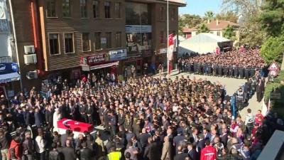 Piyade Uzman Onbaşı Ünal Olğun'un cenazesi son yolculuğuna uğurlandı - BURSA