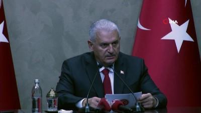 TBMM Başkanı Yıldırım: 'Türkiye-Belarus ilişkilerinde 1 milyar dolar ticaret hedefimizin yakalanması adına çalışmalarımızı sürdüreceğiz'
