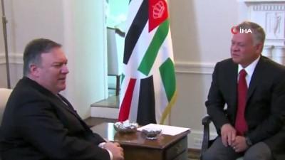 - Ürdün Kralı'ndan ABD'ye Gazze Çağrısı