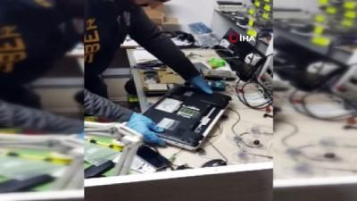 Yasa dışı bahis operasyonu kamerada... Şüpheliler adliyeye sevk edildi