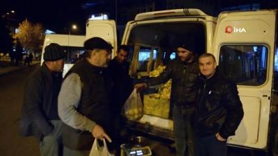 4 ton limon saatler içerisinde satıldı Haberi