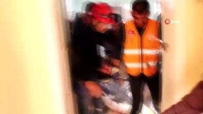 AFAD gönüllülerinin tatbikatı gerçeği aratmadı
