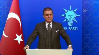 hukumet - AK Parti Sözcüsü Çelik: 'Hasta ziyaretinin ideolojisi ve siyaseti olmaz' (2) - ANKARA
