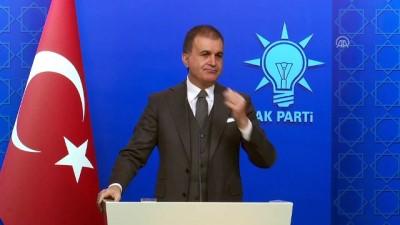 hukumet - AK Parti Sözcüsü Çelik: 'Hasta ziyaretinin ideolojisi ve siyaseti olmaz' - ANKARA