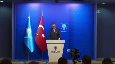 AK Parti Sözcüsü Çelik - 'Öğrenci Andı'na ilişkin Danıştay'a sunulan temyiz dilekçesi - ANKARA