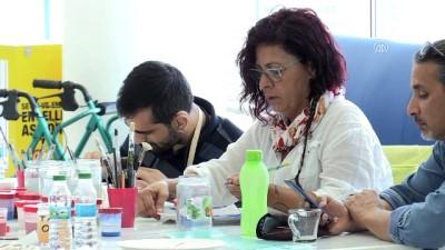 Akademisyenler ve seramik sanatçıları engellilerle buluştu - MUĞLA