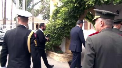 Akıncı, Deniz Kuvvetleri Komutanı Oramiral Özbal'ı kabul etti - LEFKOŞA