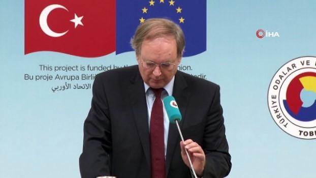 toplanti -  Büyükelçi Berger: 'Türk diplomasisi ile terör örgütleri bölgeden çekildi'