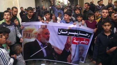 hava saldirisi - Gazzeliler Liberman'ın istifasını sevinçle karşıladı - GAZZE