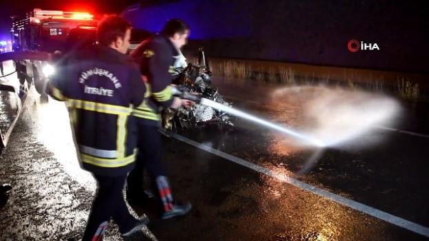 trafik kazasi -  Gümüşhane'de trafik kazası: 6 yaralı
