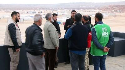İHH'dan İdlib'de dul ve yetim ailelerine konut yardımı - İDLİB