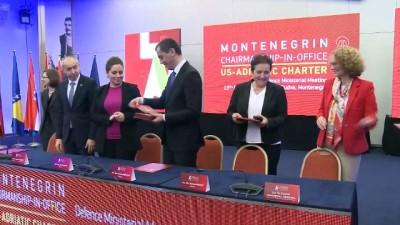 toplanti - Karadağ'da 'ABD-Adriyatik Toplantısı' düzenlendi - BUDVA