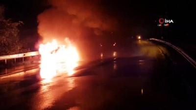 trafik kazasi -  Karadeniz sahil yolunda kaza: 4 yaralı
