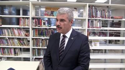 Kırşehir'in yeni kütüphanesine ilgi büyük