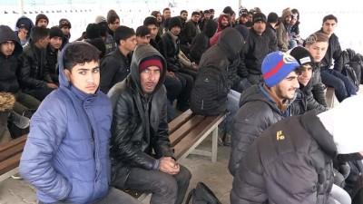 jandarma - Köylünün şefkat gösterdiği düzensiz göçmenler yaşadıklarını anlattı - EDİRNE