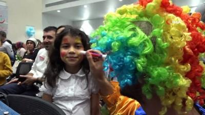 Mersin'de 'Şeker Çocuklar' şenliği