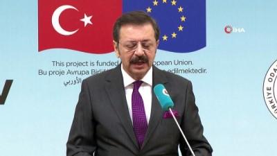 toplanti -  TOBB Başkanı Hisacıklıoğlu: 'Sadece mülteciler değil, tüm Türkiye kazançlı çıkacak'
