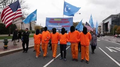 hukumet - Uygur Türkleri Washington'da Çin'i protesto etti - WASHINGTON
