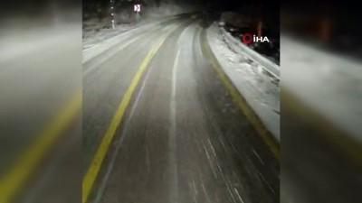 soguk hava dalgasi -  Yüksek kesimlerde kar yağışı etkili oldu