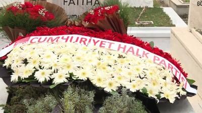 CHP Heyeti M.Rifat Börekçi'nin kabrini ziyaret etti (2) - ANKARA