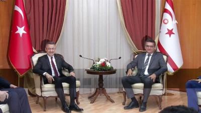 - Cumhurbaşkanı Yardımcısı Oktay, KKTC Başbakanı Erhürman ile görüştü