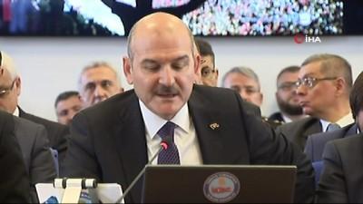 İçişleri Bakanı Soylu: 'Bu yıl 100 üst düzey terörist etkisiz hale getirilmiştir. Bunun 13'ü kırmızı 5'i mavi 6'sı yeşil 8'i turuncu 41'i gri 27'si listede yer almayan üst düzey teröristlerdir'