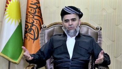 IKBY'deki İslami Toplum Partisi lideri Ali Bapir - ERBİL