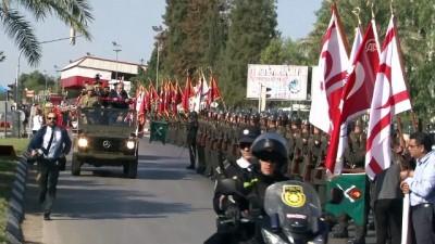 KKTC'nin 35. kuruluş yıl dönümü kutlanıyor - KKTC Cumhurbaşkanı Mustafa Akıncı - LEFKOŞA