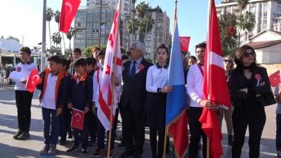 KKTC'nin 35. kuruluş yıl dönümü Mersin'de kutlandı