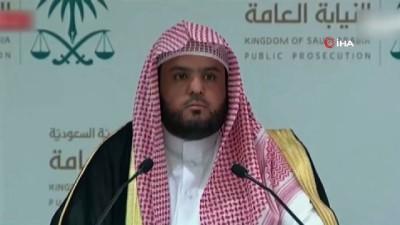 """- Suudi Arabistan Başsavcılığı Sözcüsü: 'Kaşıkçı bir iğneyle etkisiz hale getirildi"""" - """"Türkiye'den kanıtları sağlamasını bekliyoruz"""""""