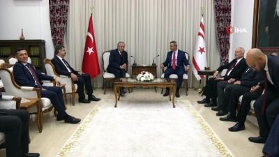- TBMM Başkanvekili Adan, KKTC Meclis Başkanı Uluçay ile görüştü