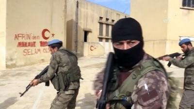 ozel harekat polisleri - Afrin polisinin özel timine 'özel eğitim' (2) - AFRİN