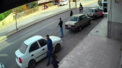Bir kişinin öldüğü kazaya drift neden oldu... O anlar kamerada