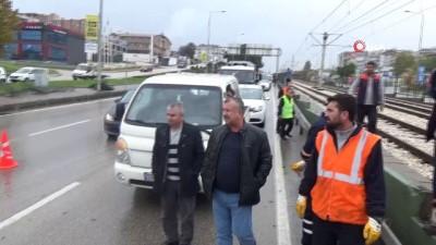 metro istasyonu -  Bursa'da feci TIR kazası, 1 yaralı