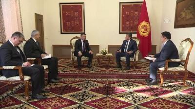 baskent - Ceenbekov: 'Özbekistan ile kardeşlik ilişkilerimize değer veriyoruz' - BİŞKEK