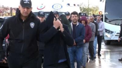 FETÖ'den ihraç edilen 29 eski polis adliyeye sevk edildi