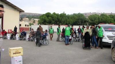 İHH'dan Suriye'de engellilere destek - İDLİB