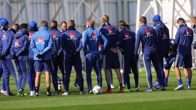 İsveç, Türkiye maçının hazırlıklarını tamamladı - KONYA