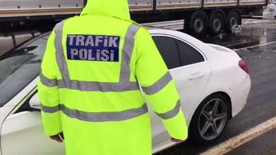 Kahramanmaraş-Kayseri kara yolu kontrollü olarak ulaşıma açıldı - KAHRAMANMARAŞ